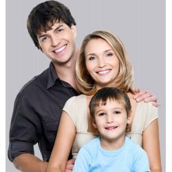 Baba+Anne+1çocuk Saç Kesimi 3 TIRAŞ ( kampanyalı )